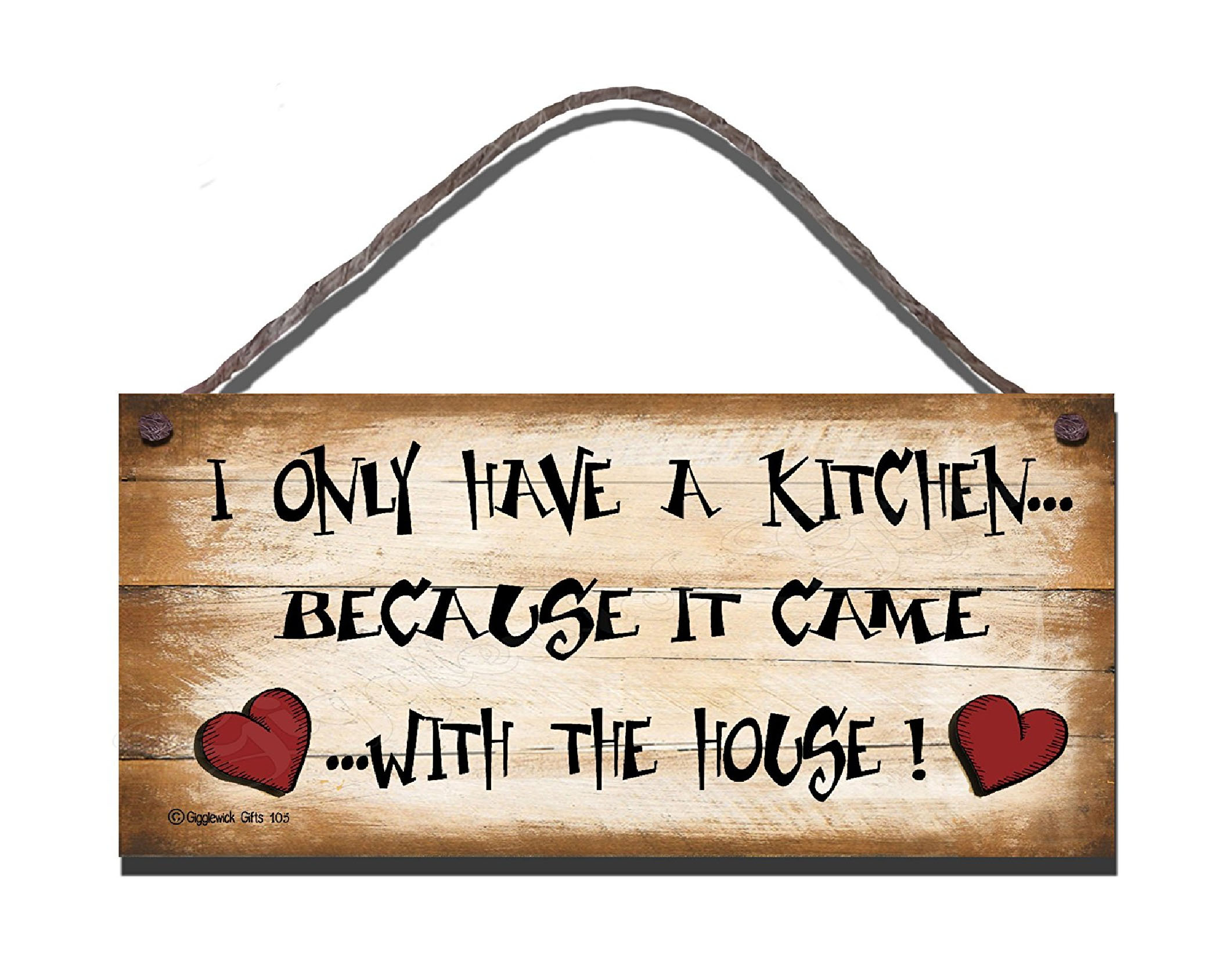 I HAVE ONLY HAVE A KITCHEN S105