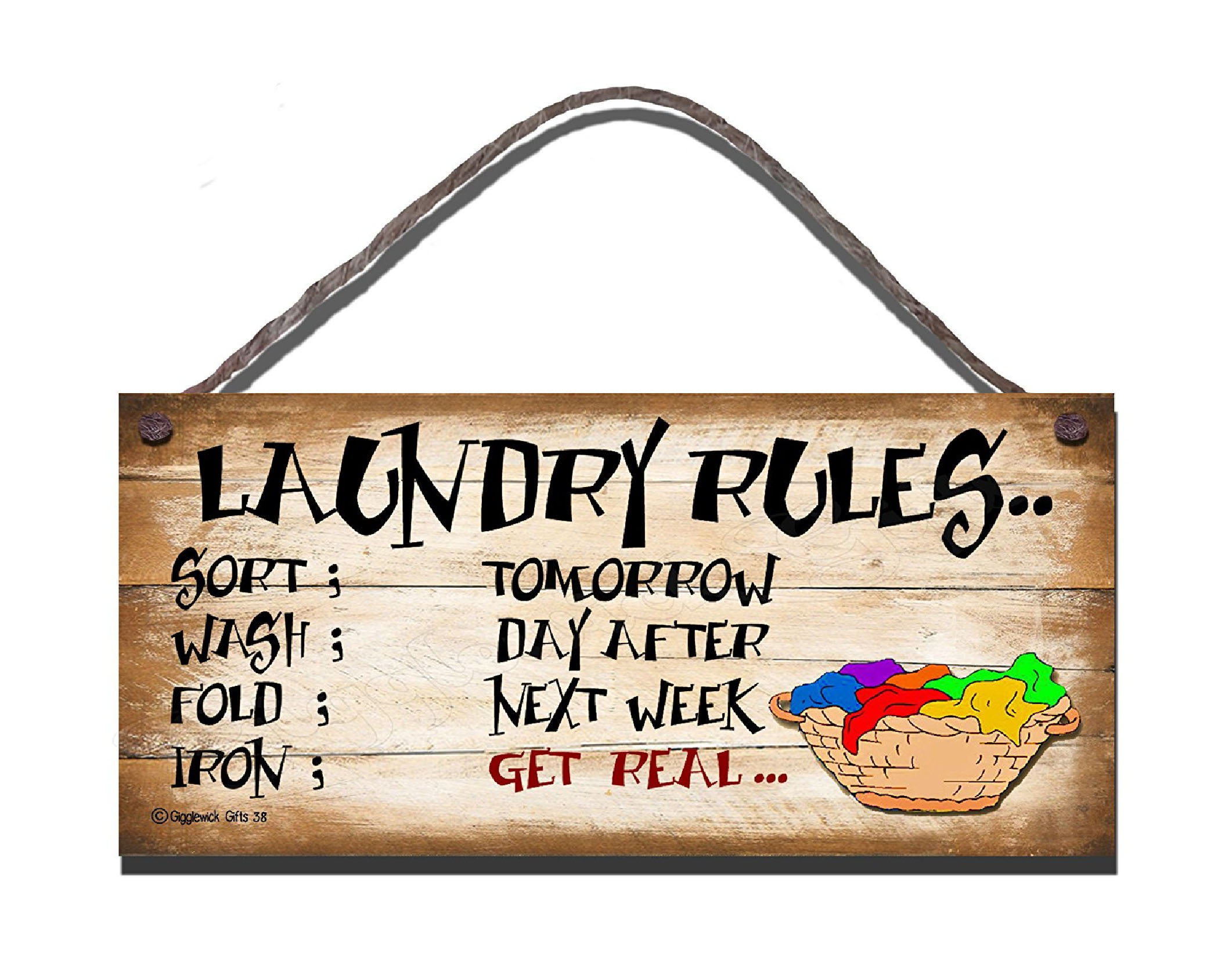 LAUNDRY RULES S38