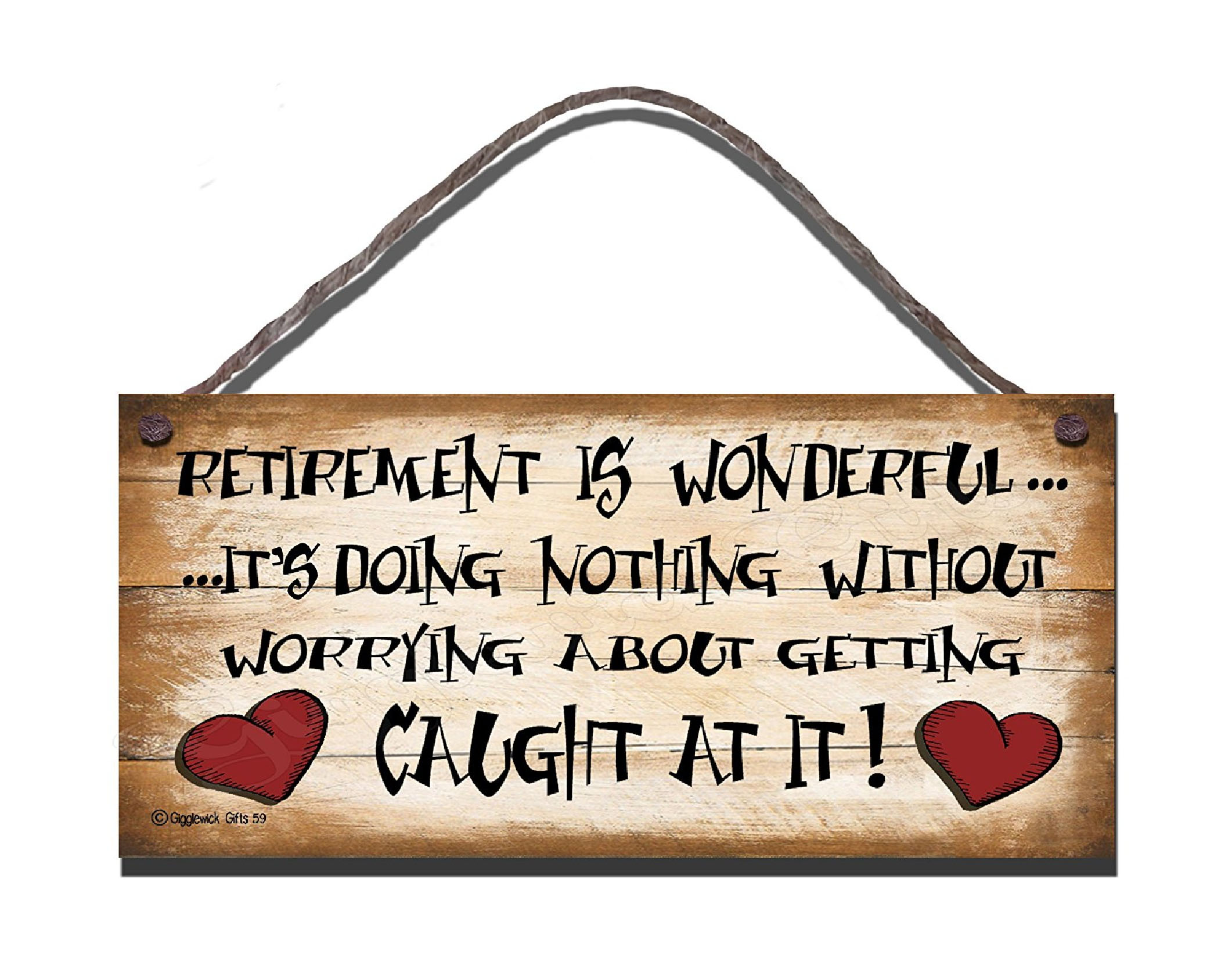 RETIREMENT IS WONDERFUL S59 - Click Image to Close