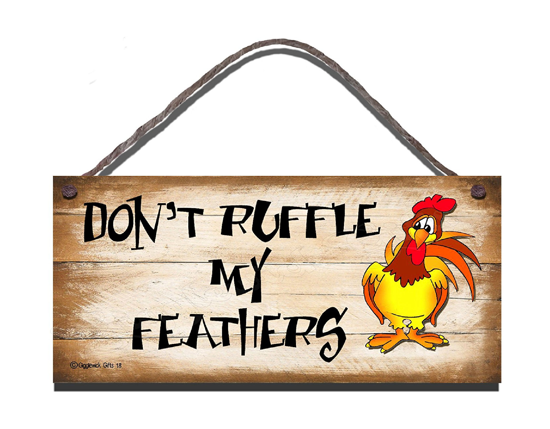 RUFFLE MY FEATHERS S18