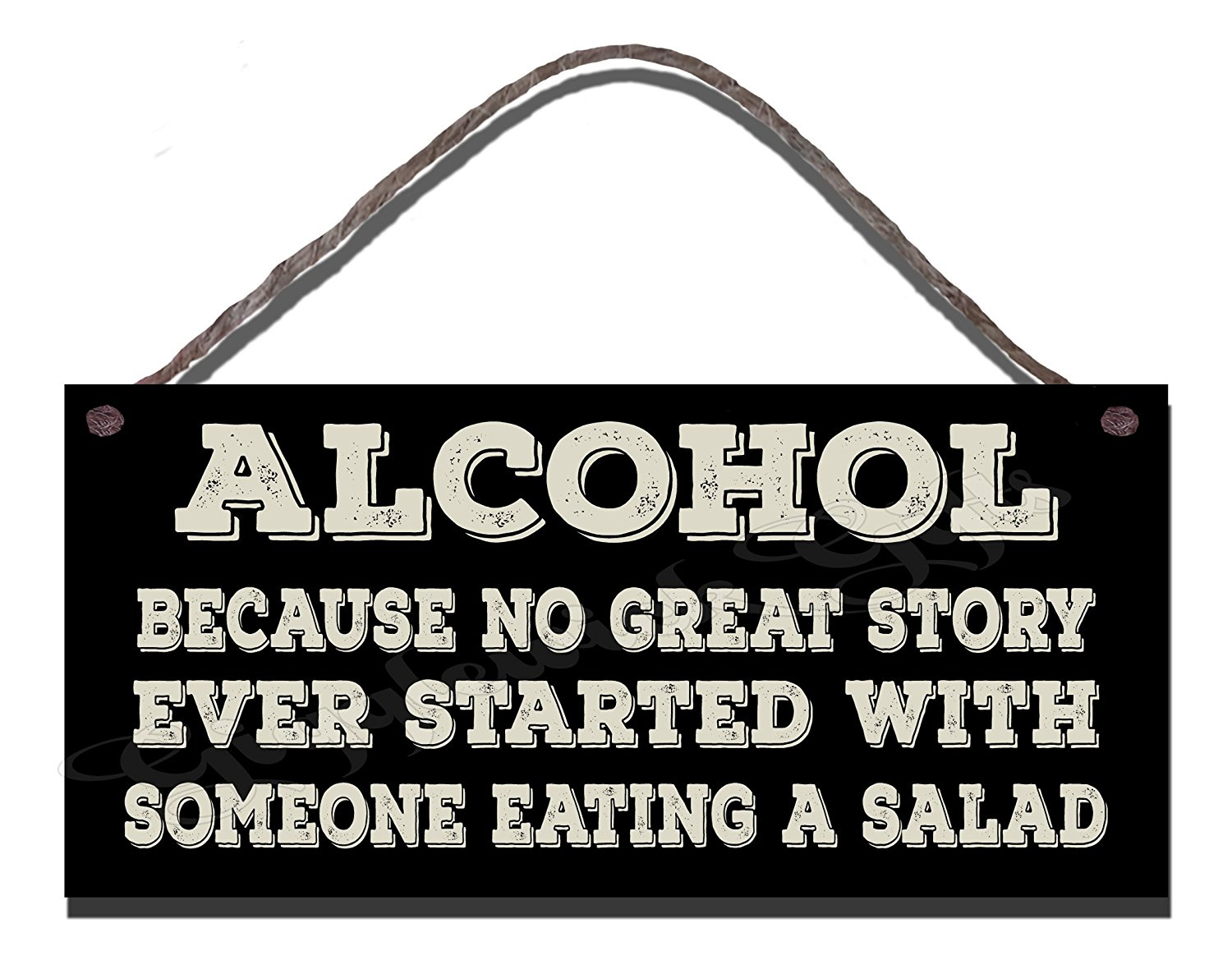 Alcohol Salad Story