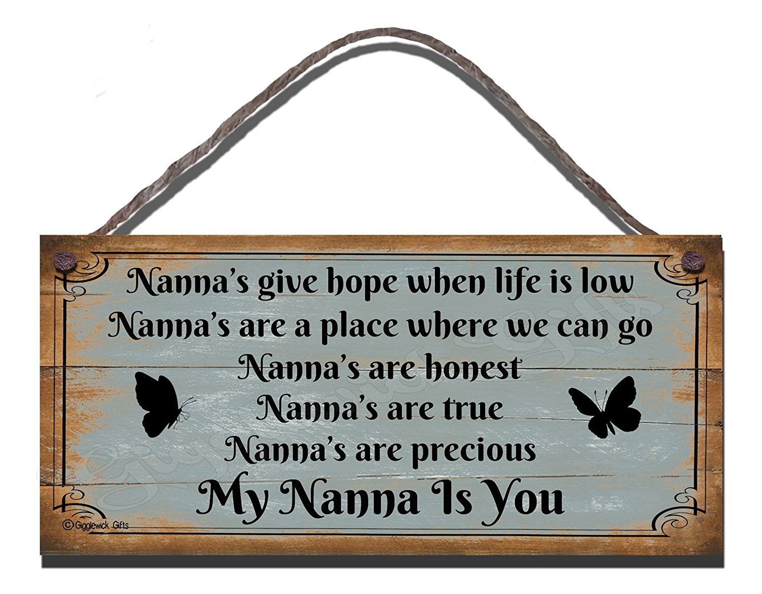 Nannas Give Hope When Life Is Low