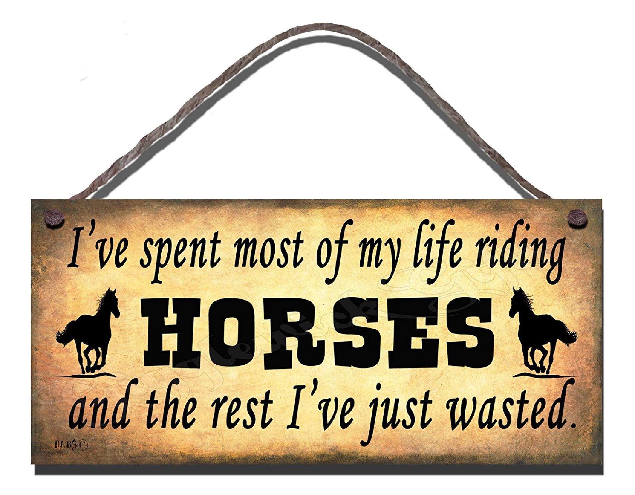 Most Of My Life Riding Horses