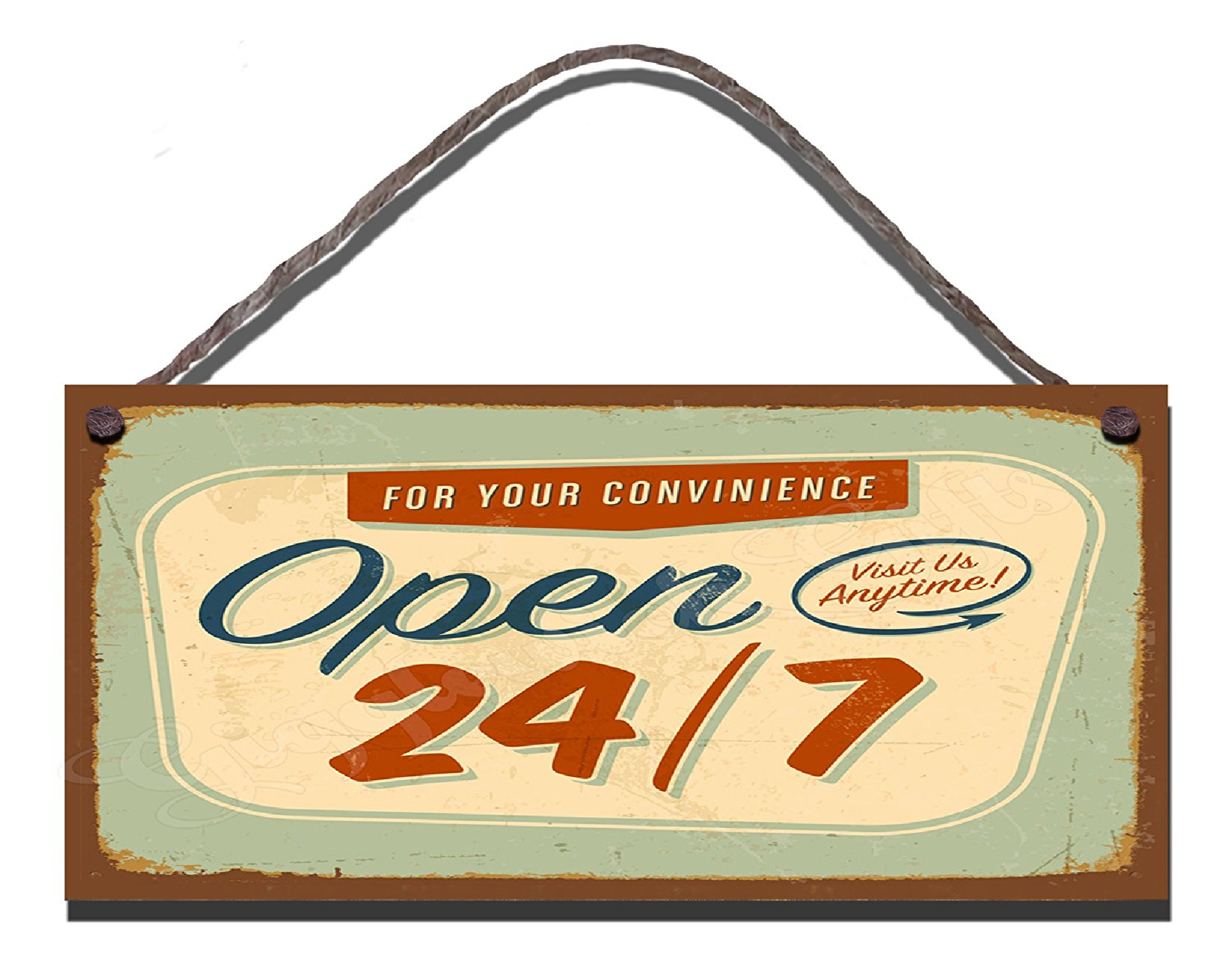 Open 24/7 For Your Convenience